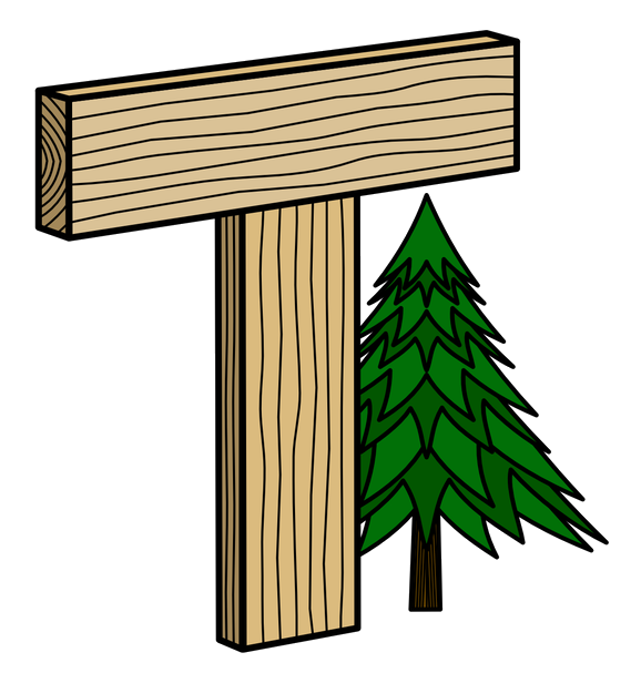timberaid icon logo wood calculations